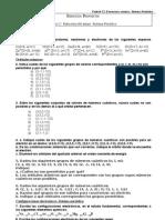 Unidad 12 Estructura Atómica.Sistema Periódico. Ejercicios propuestos