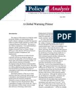 A Global Warming Primer