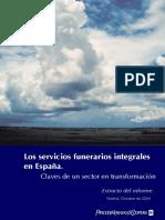 los servicios funerarios integrales en España