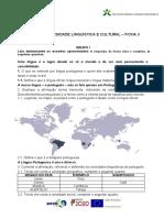 DIVERSIDADE LINGUÍSTICA E CULTURAL. FICHA 3.doc