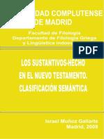 Muñoz Gallarte, Israel - Los sustantivos hecho en el nuevo testamento.pdf