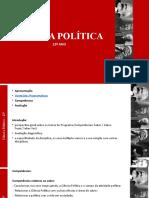 Unidade 1- CIENCIA POLITICA