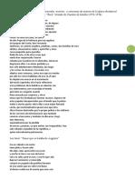 Leemos Poemas de Poetas Desaparecidos