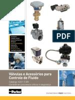 Válvulas e Acessórios para Controle de Fluido