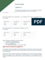2. REGULAR AND IRREGULAR VERBS - Explicación.pdf