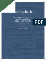 Abschlussbericht der Expertengruppe zur Reform der Tötungsdelikte