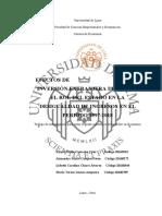 EFECTOS DE LA INVERSIÓN EXTRANJERA DIRECTA Y EL ROL DEL ESTADO EN LA DESIGUALDAD DE INGRESOS EN EL PERIODO 1997-2018