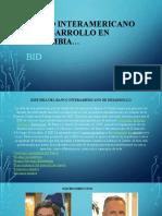 Banco interamericano de desarrollo en Colombia