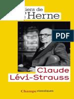 Les Cahiers de lHerne by Lévi-Strauss Claude (z-lib.org)