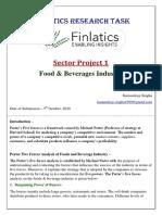 FINLATICS RESEARCH TASK Sector 1