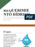 REQUERIMIENTO HÍDRICO