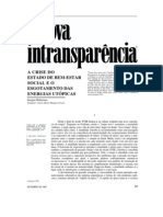 A nova intransparencia - Habermas