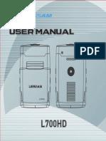 Manual L700HD