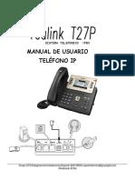 Manual Yealink T27 (1)(3)