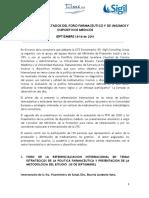 Informe de resultados Foro Diagnóstico PFN. Septiembre 15 y 16 de 2011