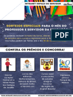 Sorteios Especiais Dia do Professor_Dia do Servidor