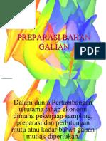 03. PREPARASI BAHAN GALIAN1