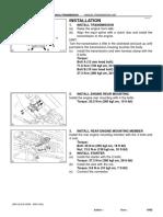 8 - Manual Trans Installation