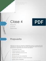 CONSTRUCCIÓN DE VÍAS 2020-I_CLASE 4