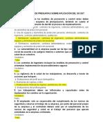 CUESTIONARIO DE PREGUNTAS SOBRE  APLICACIÓN DEL SG SST - CC 1114816804