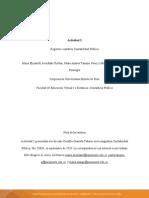 Actividad 5. Registros contables