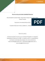 Actividad 5. Plan de acción para brindar estabilidad financiera