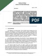 DOH Memorandum 2020-0178