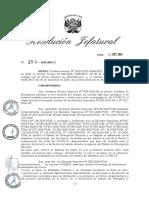 R.J. N.° 250-2020-INDECI