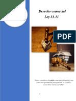 (ley 31-11) derecho comercial