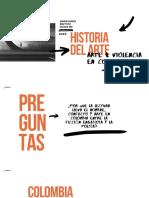 CONFLICTO Y ARTE EN COLOMBIA