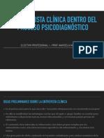 3 La entrevista clínica