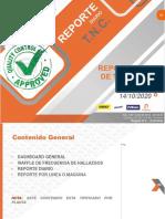 12vo. REPORTE DIARIO DE TNC 14 DE OCT 2020