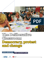 _Final Deliberative Classroom Democracy, Protest and Change teacher briefing and lesson JAN 19 published