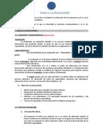 UD 9 LA EVALUACIÓN COMPLETO