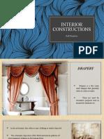 interior constructions- Soft furniture.pptx