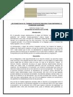 ENSAYO DEL CUARTO PLENO CASATORIO