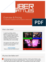 Uber Battle Overview and Pricing