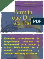 Seminario_II_Permita que Dios sea Dios