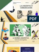 LA COMUNICACIÓN Y LA LINGUÍSTICA