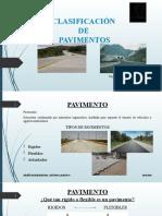 2.- Clasificación de Pavimentos