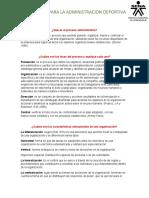 Qué es el proceso administrativo ACT 1
