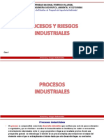 Procesos y riesgos industriales
