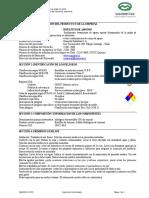 2. HDS Bisulfito de Amonio