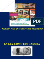 La Ley Como Educadora 3