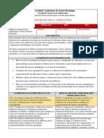 Programa de la Didactica Especial de la Matemática, Práctica Docente I -