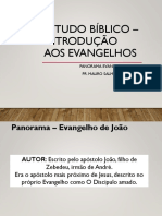 Estudo bíblico – introdução aos evangelhos - Aula 3