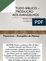 Estudo bíblico – introdução aos evangelhos - Aula 4