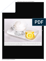 gelado sorvete de limão