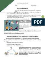 2DA CLASE VIRTUAL-DIDÁCTICA DE LA LENGUA
