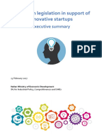 Executive Summary of Italy s Startup Act New Format 23-02-2017